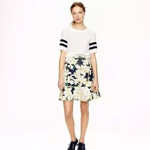 NWT J Crew Scuba Surf Skirt in Cove Floral